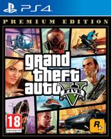 Игра Grand Theft Auto V. Premium Edition для PS4 Sony