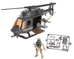 Военный набор Chap Mei Десантный вертолет, 30 см с фигуркой солдата 10 см. ИГРУШКИ ДЛЯ МАЛЬЧИШЕК