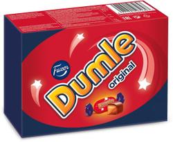 Fazer Dumle Original ирис в молочном шоколаде, 150 г. Выбираем подарки для любимых женщин!