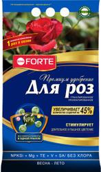 Удобрение Bona Forte с кремнием для РОЗ и КЛУМБОВЫХ,  2,5 кг. BONA FORTE для сада