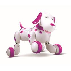 Радиоуправляемая робот-собака HappyCow Smart Dog (777-339) - Розовый. ДЛЯ ВАШИХ ДЕТЕЙ