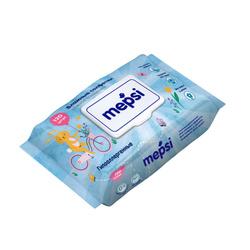 Влажные салфетки Mepsi гипоаллергенные, 120 шт.. Не упустите!