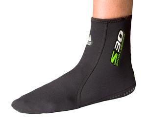 Купить Неопреновые носки Waterproof S30, толщина: 2 мм. Размер M (40-41)