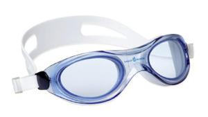 Купить Маска для плавания MadWave Panoramic, цвет: синий