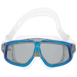 Купить Очки для плавания Aqua Sphere Seal 2.0, цвет: прозрачный, синий