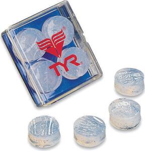 Купить Беруши для бассейна Tyr Soft Silicone Ear Plugs, цвет: прозрачный. LEP