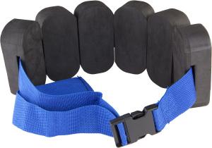 Купить Аквапояс Tyr Aquatic Floatation Belt, цвет: черный, голубой