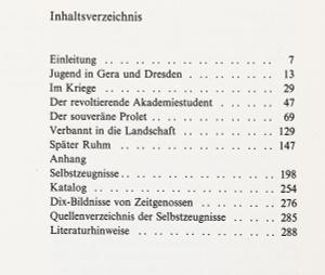 Otto Dix im Selbstbildnis /  ...