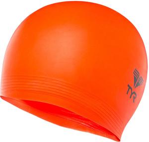 Купить Шапочка для плавания TYR Latex Swim Cap, цвет: красный