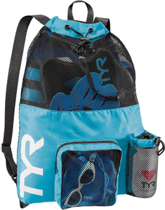Купить Мешок для мокрых вещей Tyr Big Mesh Mummy Backpack, LBMMB3, голубой