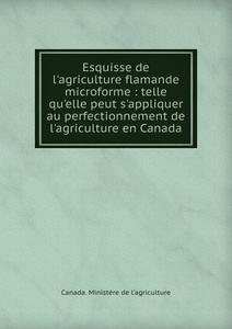 Esquisse de l.agriculture flamande microforme