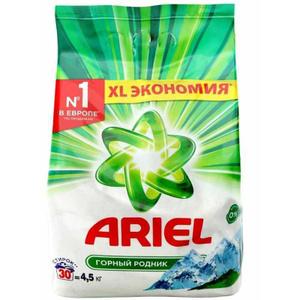 Купить Стиральный порошок Ariel Горный родник автомат, 4,5кг