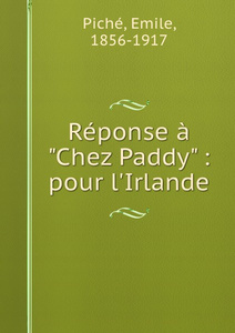 Reponse a `Chez Paddy` : pour l.Irlande