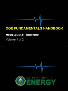 DOE Fundamentals Handbook - Mechanical Science (Volume 1 of 2)