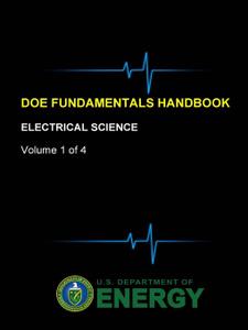 DOE Fundamentals Handbook - Electrical Science (Volume 1 of 4)