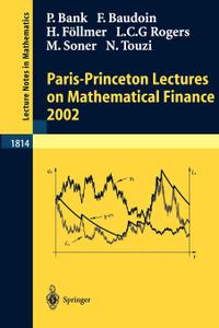Paris-Princeton Lectures on  ...