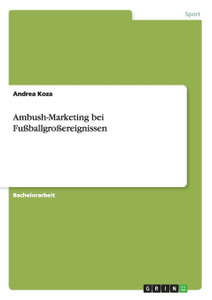 Ambush-Marketing bei  ...