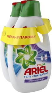 Купить Гель для стирки Ariel Сolor, 1,95 л + 1,95 л