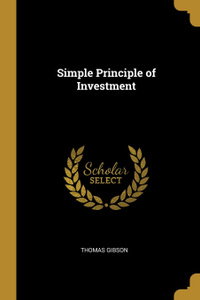 Simple Principle of Investment