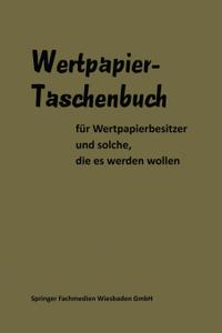 Wertpapier Taschenbuch