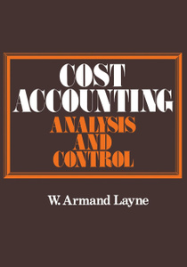 Cost Accounting. Analysis and  ...