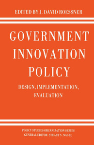 Government Innovation Policy.  ...