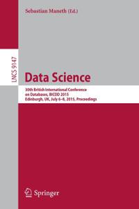 Data Science. 30th British  ...