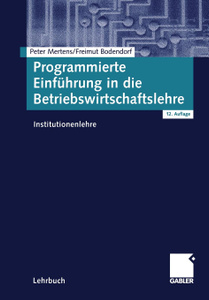 Programmierte Einfuhrung in die  ...