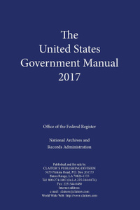United States Government Manual  ...
