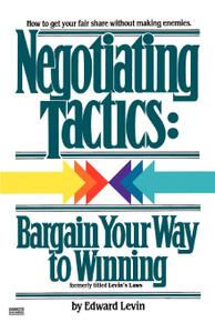 Negotiating Tactics. Bargain  ...