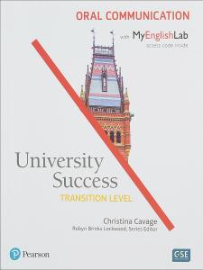 University Success Trans Oral Communication SB+MEL