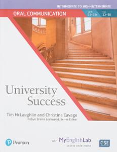 University Success Int Oral Communication SB+MEL