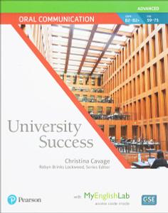 University Success Adv Oral Communication SB+MEL