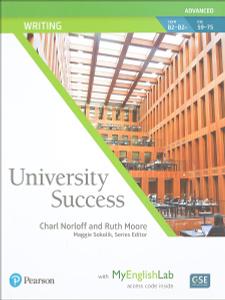 University Success Adv Writing SB+MEL