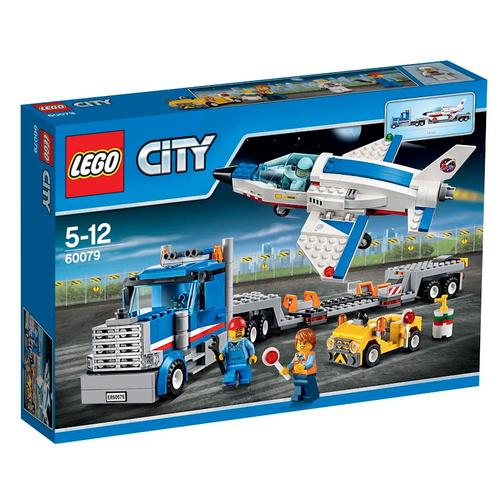 60079 lego city транспортер для учебных самолетов 60079