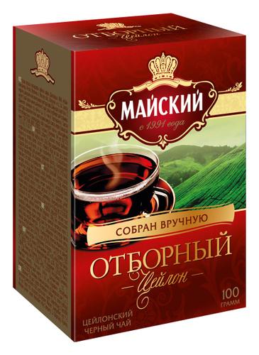 Отзывы на <b>Майский Отборный черный листовой</b> чай, 100 г от ...