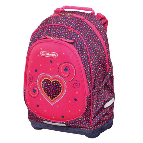 2043b43d0a43 Herlitz Рюкзак Bliss Pink Hearts — купить в интернет-магазине OZON.ru с быстрой  доставкой