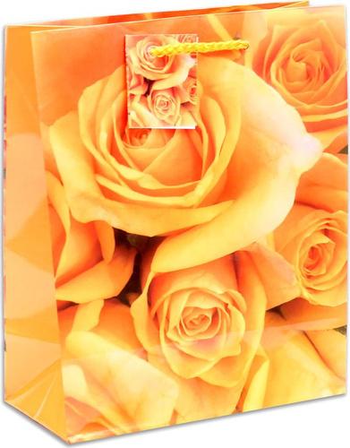 """Отзывы на <b>Подарочная упаковка Miland</b> """"<b>Оранжевые</b> розы"""", 18 х ..."""