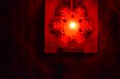 "Настольный светильник  Космос  Светильник Космос ""Снежинка"", 7 х 7 х 3 см, белый, прозрачный #1, Мария"