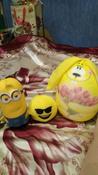 Подушка-игрушка Штучки, к которым тянутся ручки антистрессовая Элвин, желтый #1, Елена