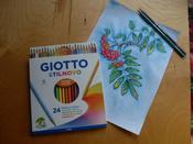 Giotto Набор цветных карандашей Stilnovo 24 цвета #12, Ильичёва Елена