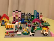 Конструктор LEGO Classic 10701 Строительная пластина серого цвета #12, Ольга