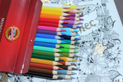 Набор карандашей акварельных MONDELUZ, 36 цв #28, Алина
