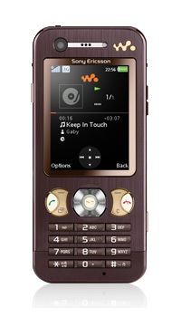 Sony Ericsson W890i, Mocha Brown + M2 2 Гб