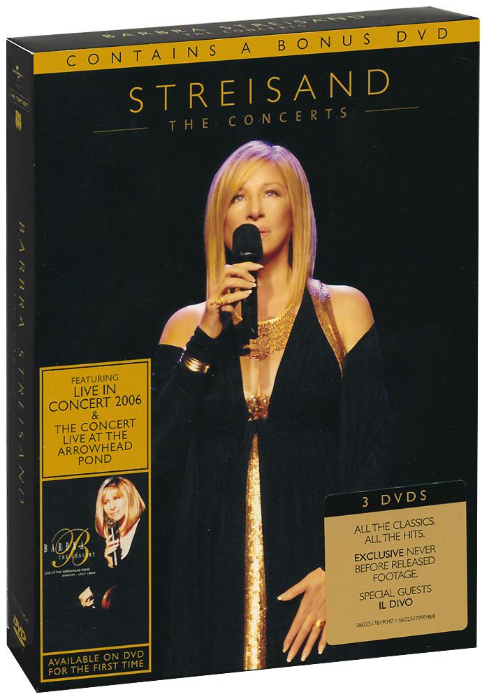 Barbra Streisand: The Concerts (3 DVD) barbra streisand barbra streisand partners 2 lp cd