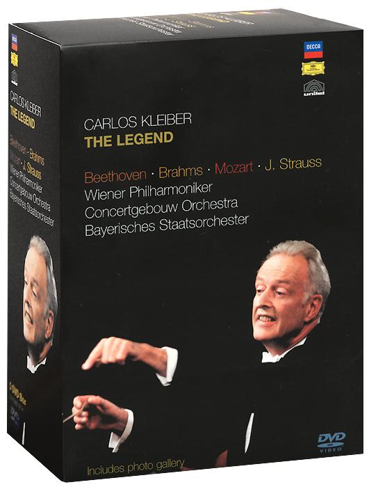 Carlos Kleiber: The Legend (5 DVD) carlos kleiber carlos kleiber complete orchestral recordings 4 lp box