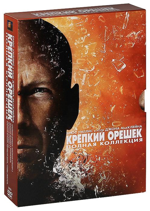 Крепкий орешек: Пенталогия (6 DVD)
