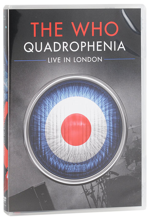 The Who: Quadrophenia - Live In London ti30 wooden comb natural sandalwood green sandalwood comb fish shaped comb