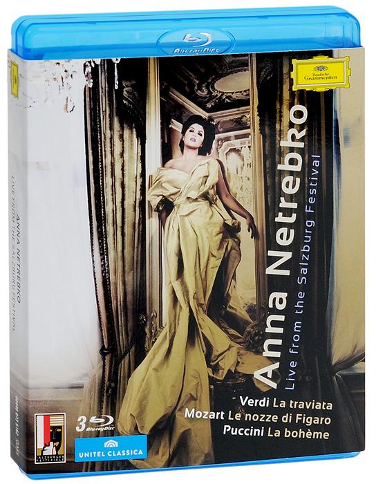 Anna Netrebko. Live From The Salzburg Festival (3 Blu-Ray) yello live in berlin blu ray