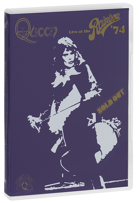 Queen. Live At The Rainbow' 74 rainbow rainbow monsters of rock live at donington 1980 cd dvd